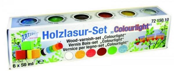 "Holzlasur-Set ""Colourlight"" artidee creartec piccolina"