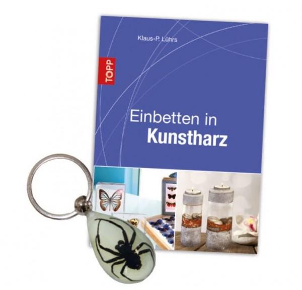 Buch Einbetten in Kunstharz Klaus-Peter Lührs Anleitungsbuch Giessharz creartec artidee