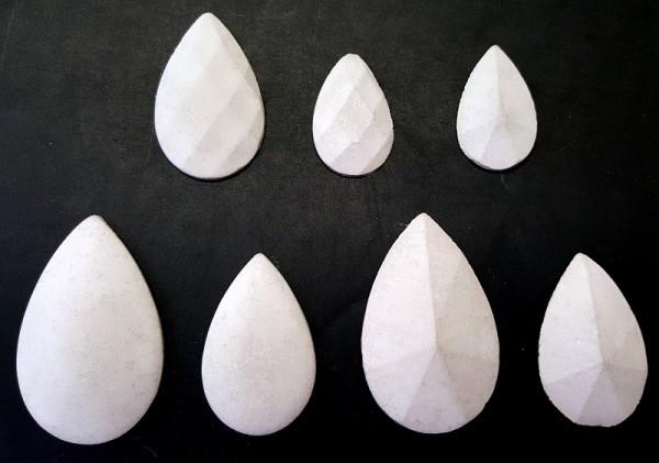 Giessform Creartec Feinbeton Schmuck Kristalle artidee piccolina