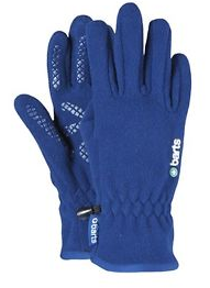 Fleece-Fingerhandschuhe blau Barts
