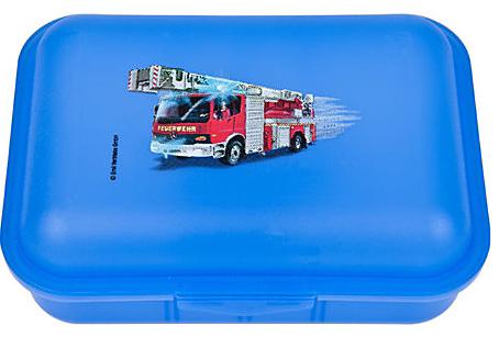 Butterbrotdose emil BPA-frei Feuerwehr piccolina Waldkindergarten